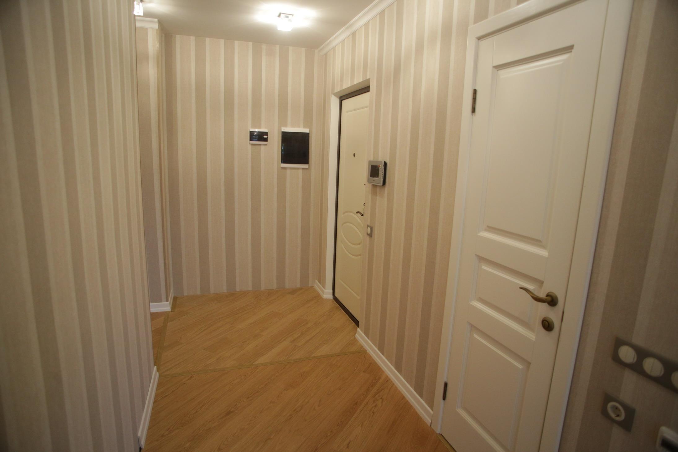 Ремонт и перепланировка 1 комнатной квартиры до после